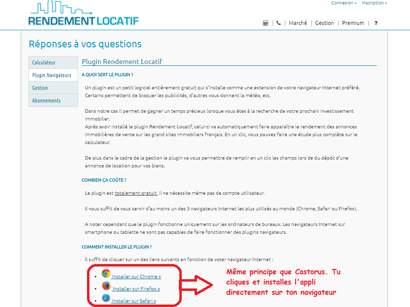 RENDEMENT TÉLÉCHARGER GRATUIT PLUGIN LOCATIF