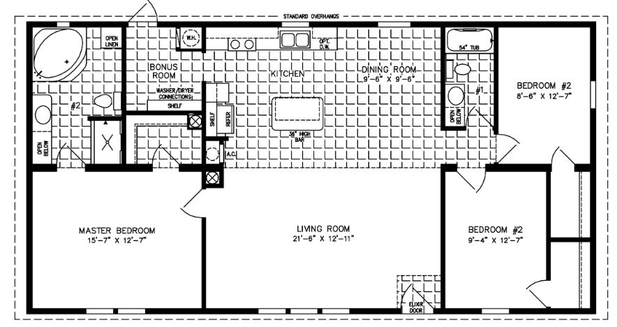 small mobile homes | small home floor plans