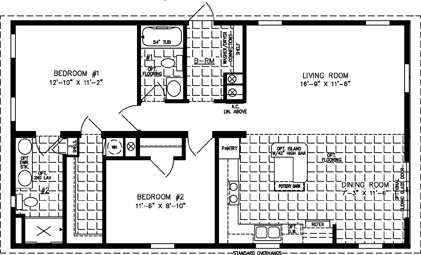 Modular Home Floor Plans 2 Bedroom | Amazing House Plans