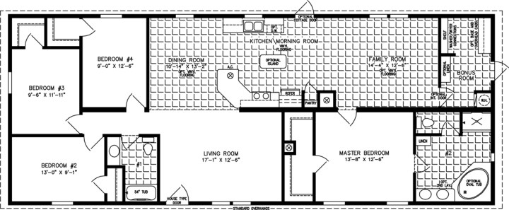 Typical Square Footage Of A 4 Bedroom House Glif Org