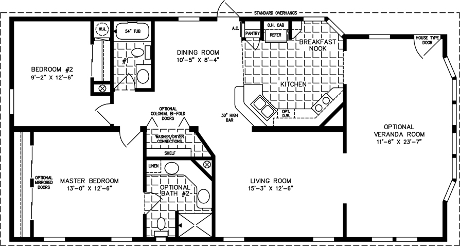 900 Sq Ft One Bedroom Apartment Floor Plans
