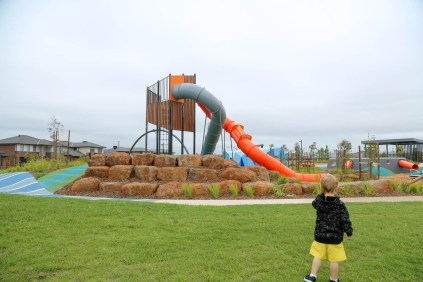Pioneer Drive Playground, Woodlea-1