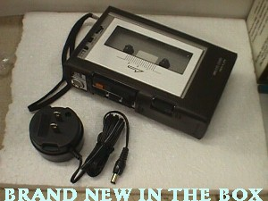 Panasonic RQ 337 Mini Cassette Recorder Jack Berg Sales