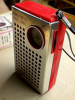 Seiko Portable Solid State AM Pocket Radio Jack Berg Sales