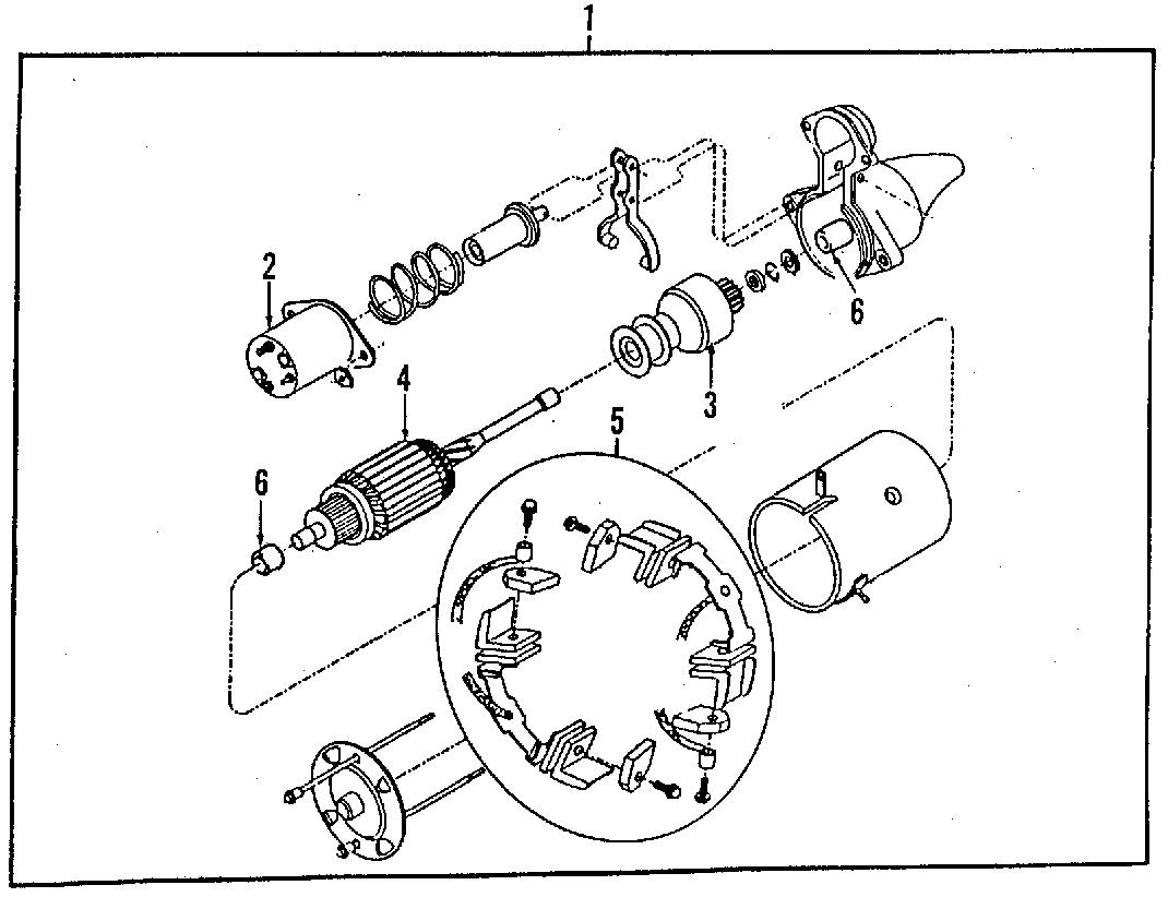 Chevrolet P30 Starter Solenoid