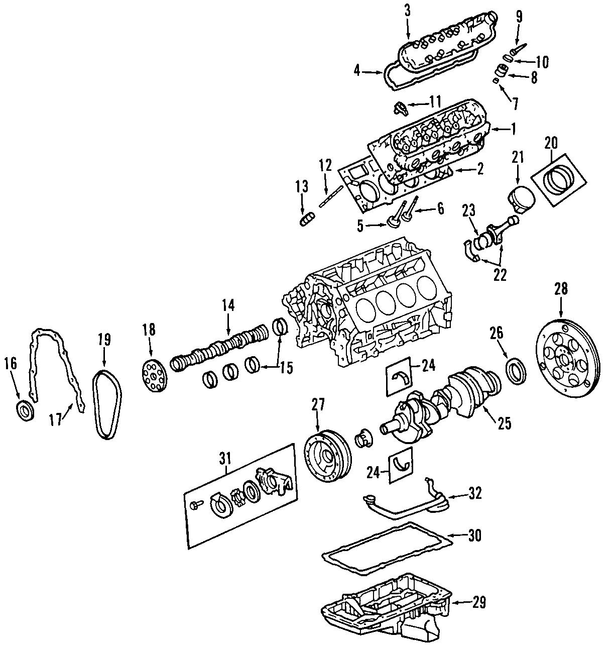 Cadillac Cts Engine Crankshaft Pulley 5 7 Amp 6 0 Liter