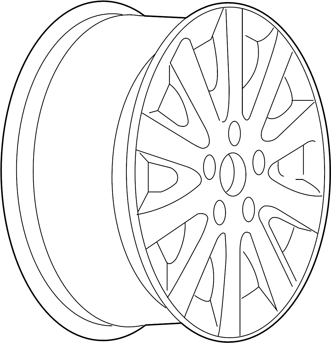 Buick Terraza Wheel Notice Repair