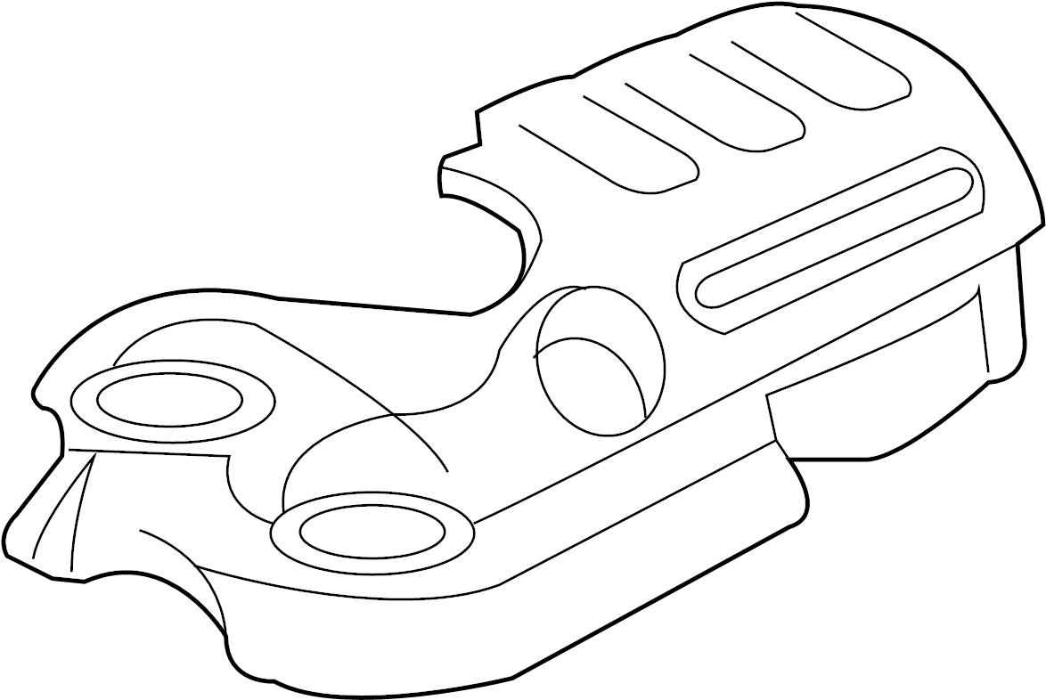 Pontiac G8 Engine Cover Upper 3 6 Liter 3 6 Liter 2