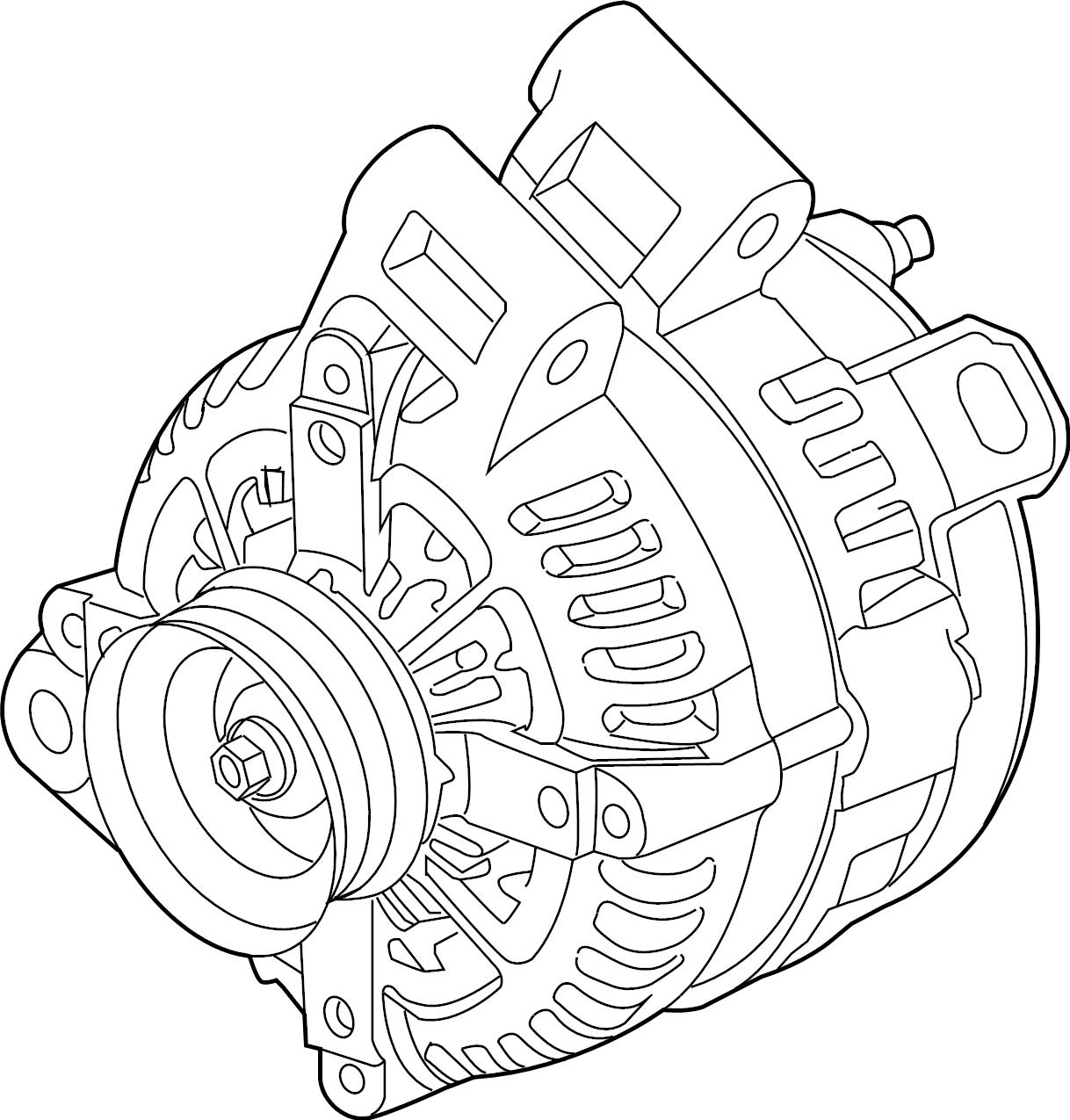 Chevrolet Blazer Alternator Battery Replaced