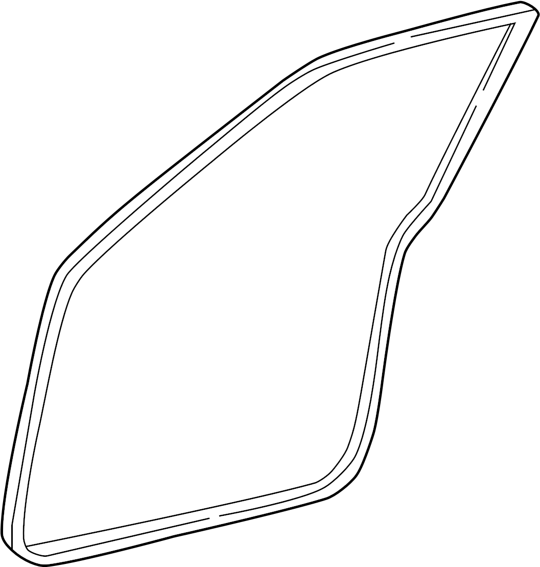 Chevrolet Silverado Door Seal Front Rear Upper