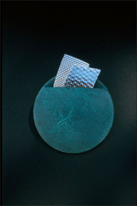 5.22 'Brooch' 1986. white metal (patinated)