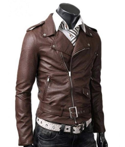 asymmetrical-slim-fit-brown-leather-jacket