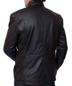 mens-biker-black-leather-4-pocket-jacket