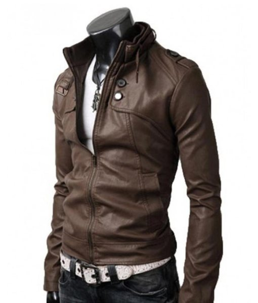 slim-fit-brown-jacket