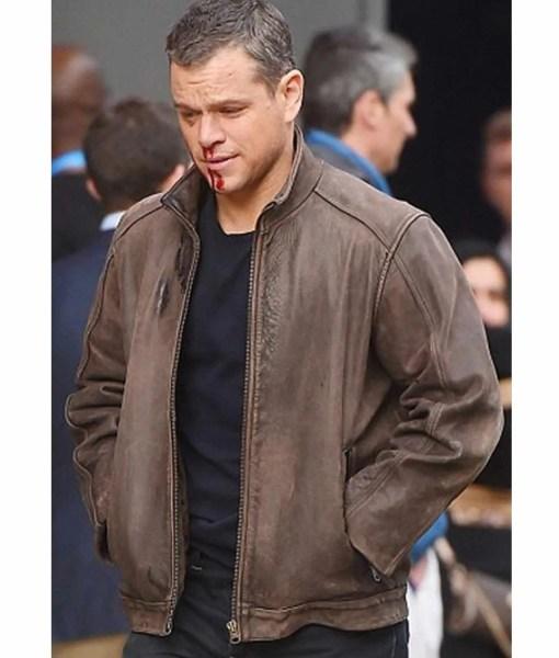 jason-bourne-brown-leather-jacket