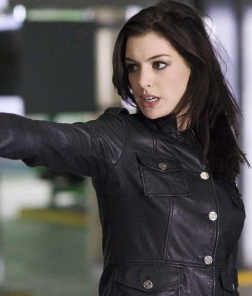anne-hathaway-get-smart-black-leather-jacket