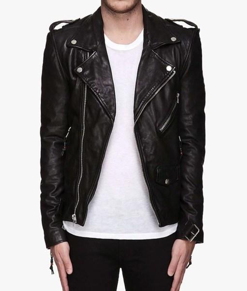 black-leather-biker-jacket
