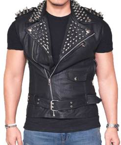 studded-leather-vest