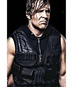 wwe-dean-ambrose-leather-vest