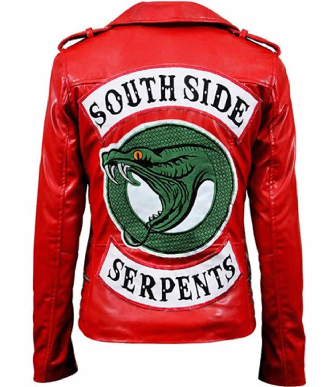 Southside Serpents Red Jacket Riverdale Cheryl Blossom