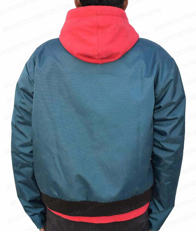 Mens Spider-Man Into the Spider-Verse Miles Morales Hoodie Sweatshirt Jacket US