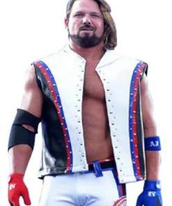 tna-aj-styles-white-leather-vest