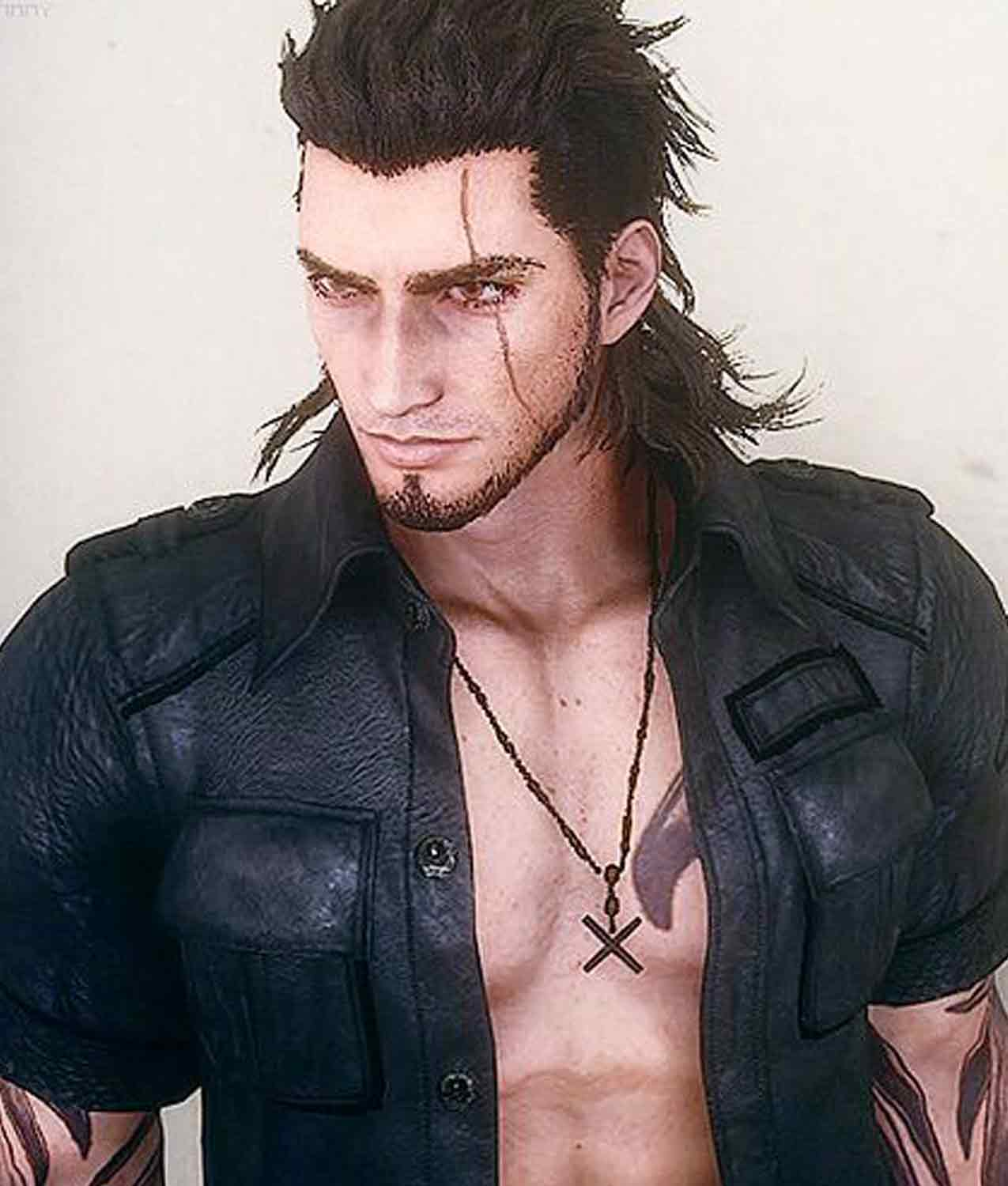 Final Fantasy Xv Gladiolus Amicitia Jacket Jackets Creator Read more information about the character gladiolus amicitia from brotherhood: final fantasy 15 gladiolus amicitia leather jacket