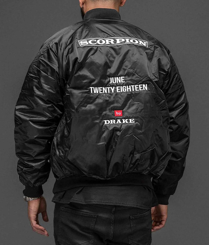dfef8ec6a27 June Twenty Eighteen Drake Scorpion Jacket - Jackets Creator