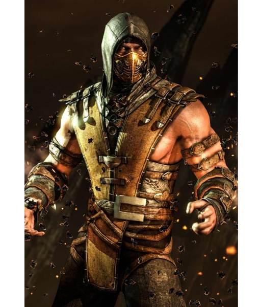 mortal-kombat-scorpion-leather-vest