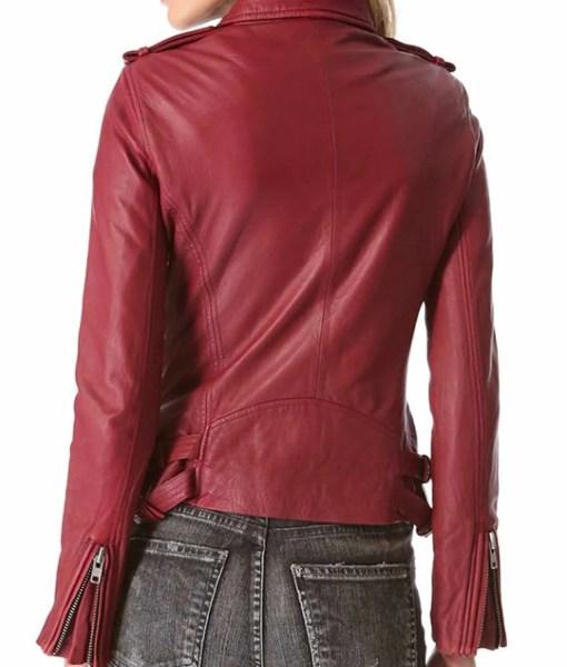 stana-katic-castle-season-6-kate-beckett-red-leather-jacket