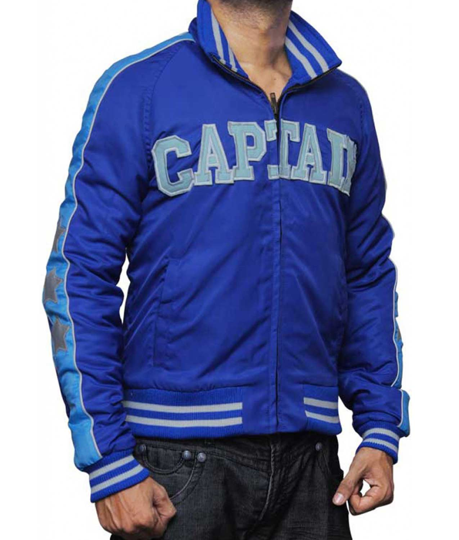 Captain Boomerang Suicide Squad Blue Jai Courtney Bomber Jacket