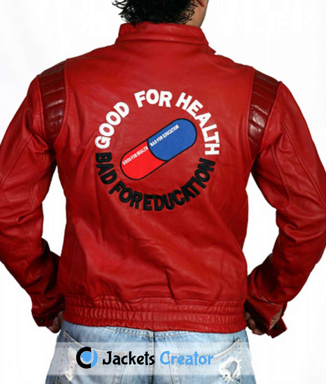 Good For Health Bad For Education Pill Kaneda Akira Jacket Jackets Creator