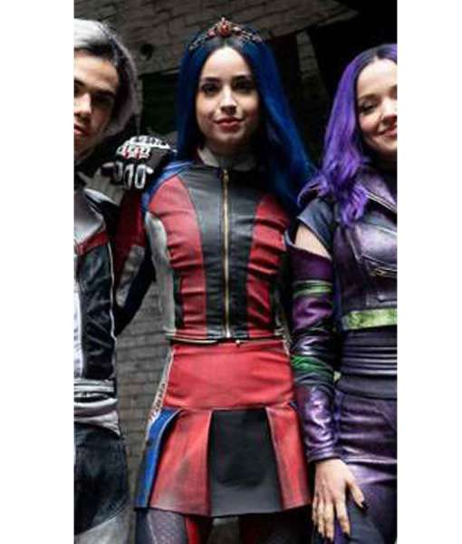 sofia-carson-descendants-3-evie-leather-jacket