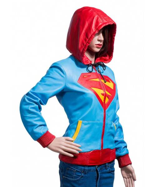 supergirl-leather-hoodie