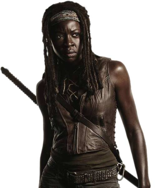 the-walking-dead-michonne-brown-leather-vest