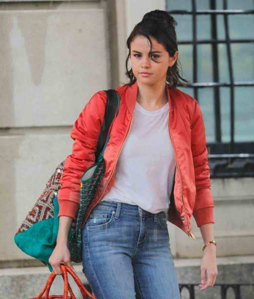 a-rainy-day-in-new-york-selena-red-bomber-jacket