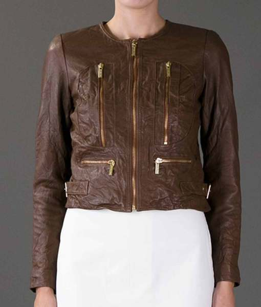 beauty-the-beast-catherine-chandler-cropped-brown-leather-jacket