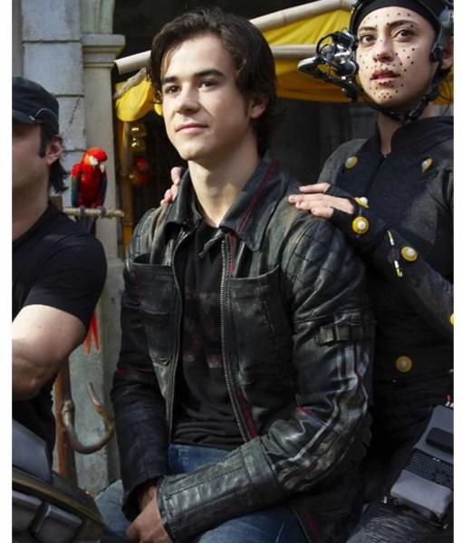 keean-johnson-alita-battle-angel-hugo-biker-jacket