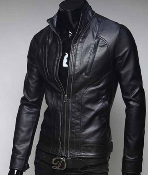 slim-fit-black-leather-jacket