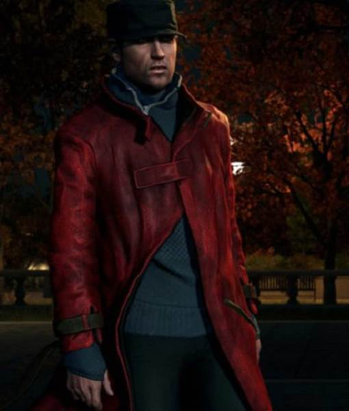 aiden-pearce-red-leather-coat