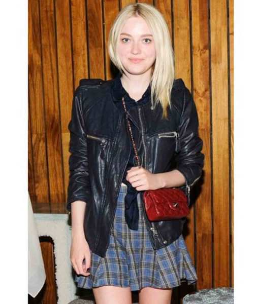 dakota-fanning-leather-jacket
