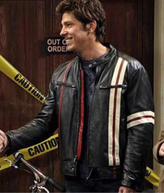 The Big Bang Theory David Underhill Leather Jacket Jackets Creator