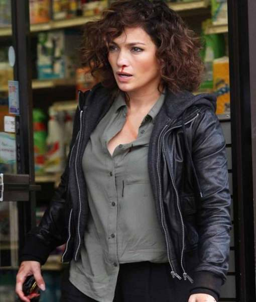 detective-harlee-santos-leather-jacket-with-hoodie