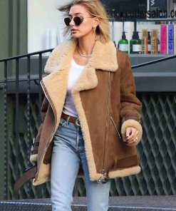 hailey-rhode-bieber-shearling-jacket