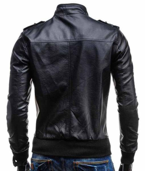 mens-casual-black-leather-jacket