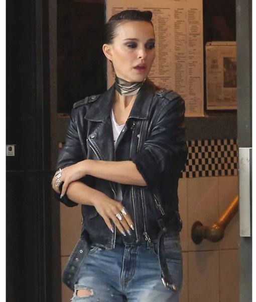 natalie-portman-vox-lux-leather-jacket