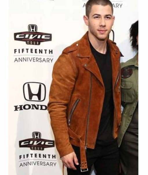 nick-jonas-biker-brown-suede-jacket