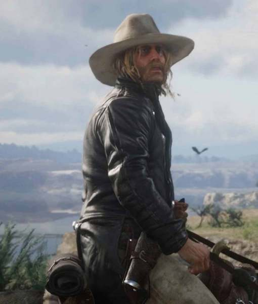 red-dead-micah-bell-leather-coat