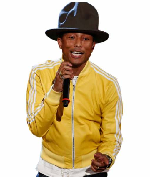 striped-design-pharrell-williams-yellow-leather-bomber-jacket