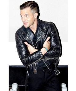 american-singer-brandon-flowers-leather-jacket